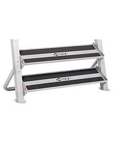"Hoist - 2 Tier 48"" Tray Dumbbell Rack"