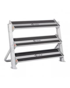 "Hoist - 3rd Tier Option Only  (Full Rack Shown) (48"") for HF-4461-48 Dumbbell Rack"