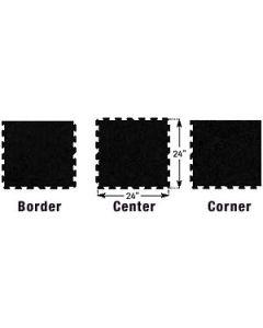 Ecore - Puzzle Tile-10% Gray Fleck (2X2)-Border