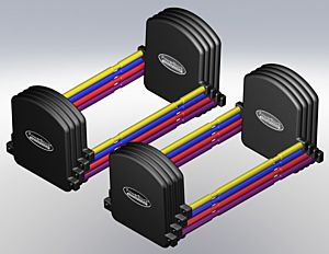 PowerBlock - Stage II Kit for U90 Dumbbells (pair)
