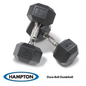 Urethane Dura-Bell Hex Dumbbell