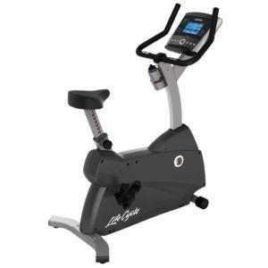 Life Fitness - C1 Upright Bike w/Go Console