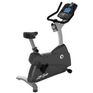 Life Fitness - C1 Upright Bike w/Track Console