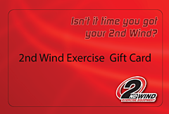 2nd Wind Exercise Gift Card $100