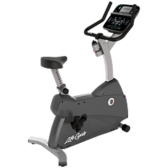 Life Fitness C1 Upright LifeCycle with Track Connect