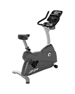 Life Fitness C3 Upright LifeCycle with Track Connect