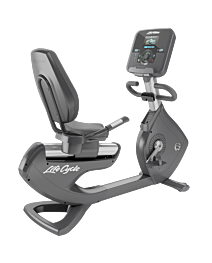 Life Fitness Platinum Club Series Recumbent Cycle with Explore Console