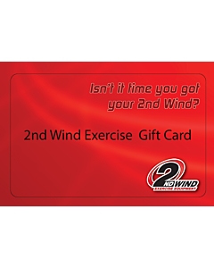 2nd Wind Exercise Gift Card $50