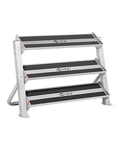 "Hoist - 3rd Tier Option Only  (Full Rack Shown) (48"") for HF-5461-48 Dumbbell Rack"