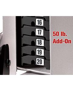 Hoist - 50# Add for gyms