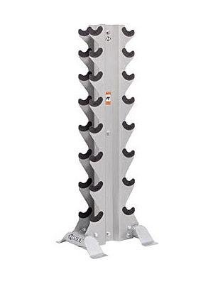 HOIST 5460 Vertical Dumbbell Rack