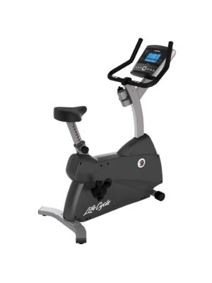Life Fitness - C1 Upright Bike w/Go Console