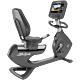 Life Fitness Platinum Club Series Recumbent Cycle with 16 inch Discover SE3 Tablet Console