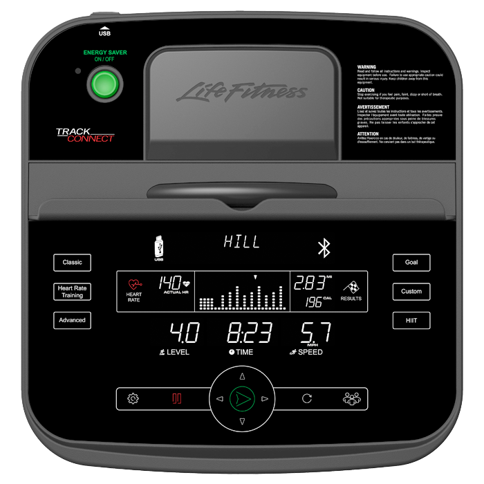 Life Fitness Track Connect Console