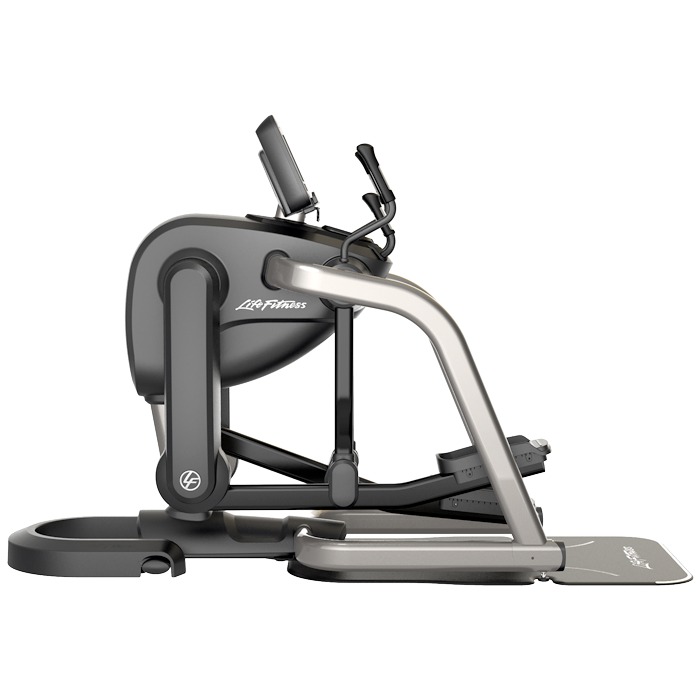 Life Fitness Platinum Club Series FlexStrider Variable-Stride Trainer with 10 inch Discover™ SI Console