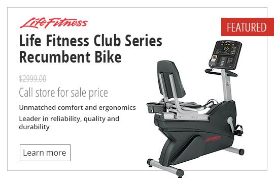 Life Fitness Club Series Recumbent Bike
