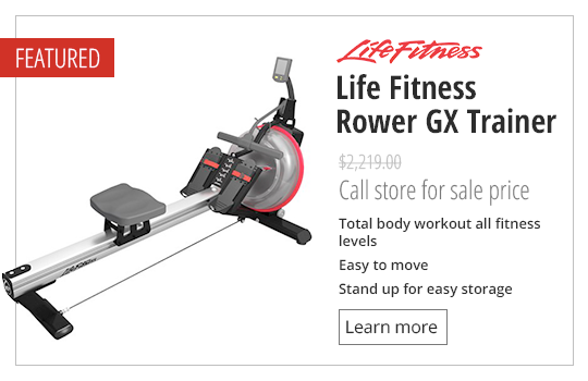 Life Fitness Rower GX Trainer