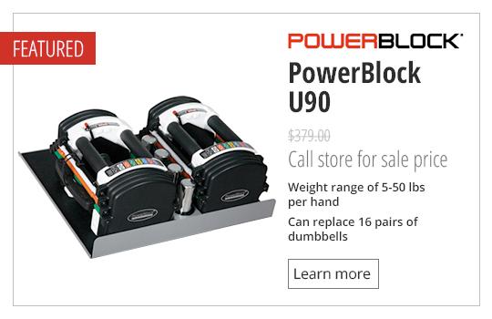 PowerBlock U90 Adjustable Dumbbells