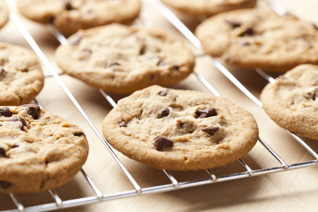 Healthy (and flourless) Chocolate Chip Cookies